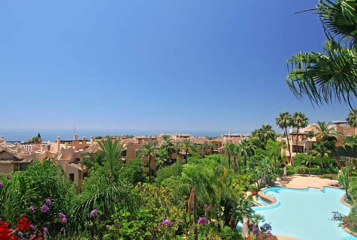 Penthouse in Marbella Golden Mile