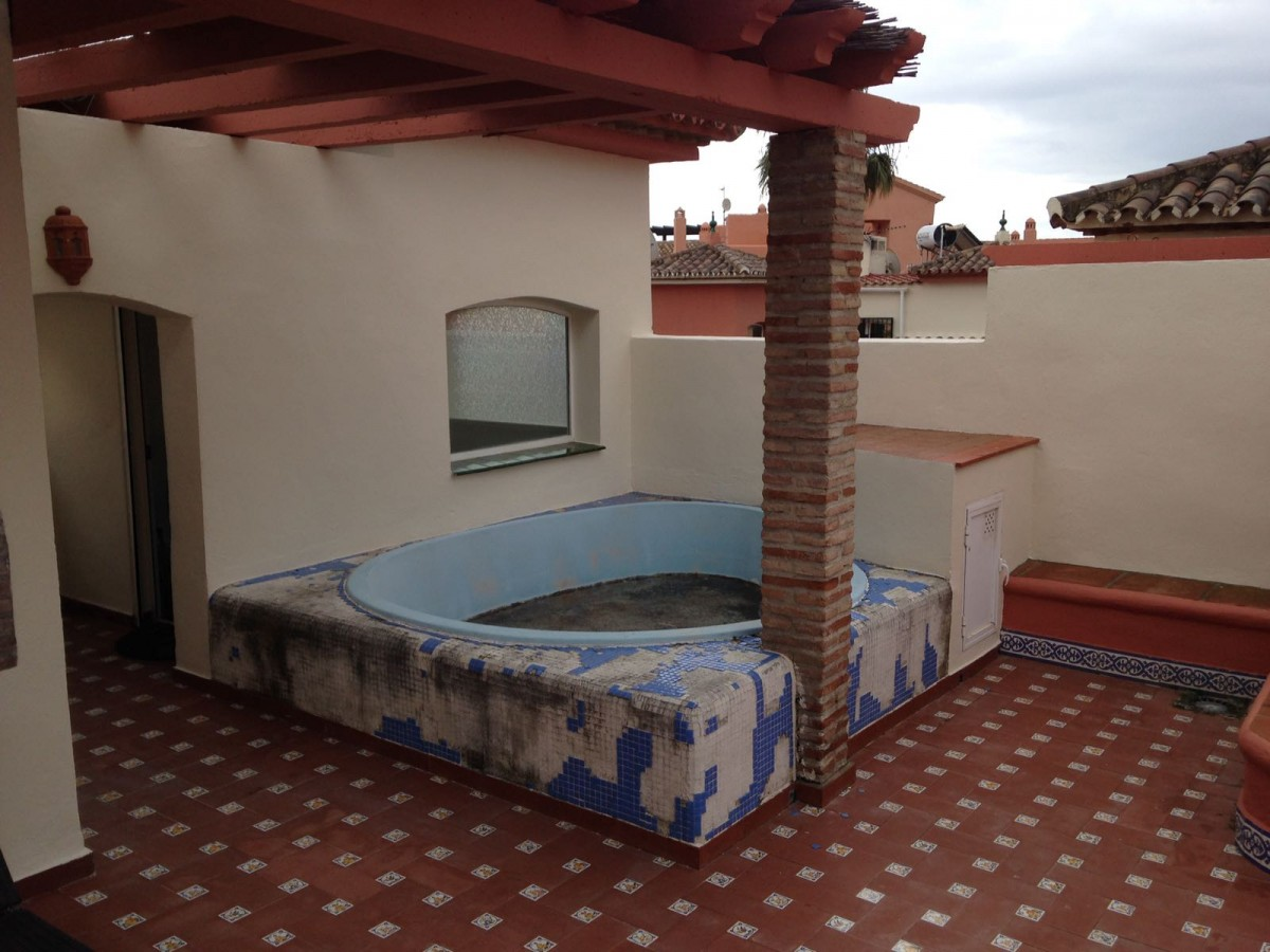 Private roof terrace pool (needs fixing)